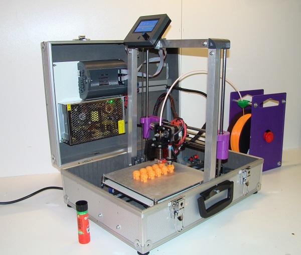 TeeBot 3D printer